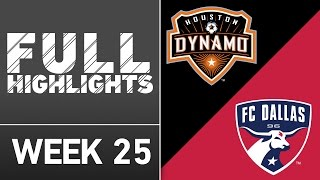 Fc dallas look to keep first place in the west as they visit houston dynamo at bbva compass stadium for another edition of texas derby., subscribe our channel more soccer content: ...