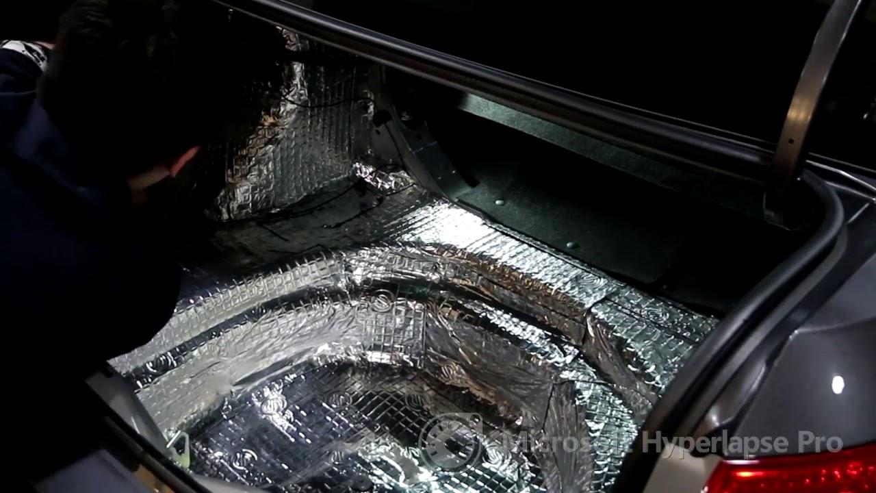 威盛專業汽車影音-全車隔音-ALTIS 11代 - YouTube