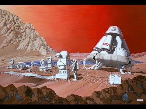 How to survive a trip to Mars - SETIcon 2 Panel