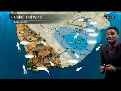#SA Weather forecast I 22 March 2019