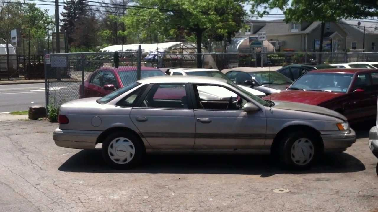 Look at a 1995 ford taurus gl youtube