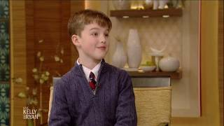 """Young Sheldon's"" Iain Armitage Got a Hamster for His Birthday"