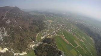 Paragliding Hasenmatte Oberdorf (Solothurn)
