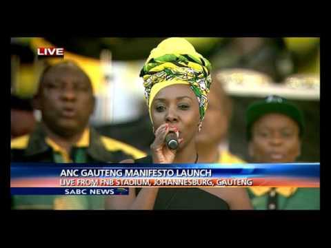 Gauteng ANC election manifesto launch gets underway at FNB stadium