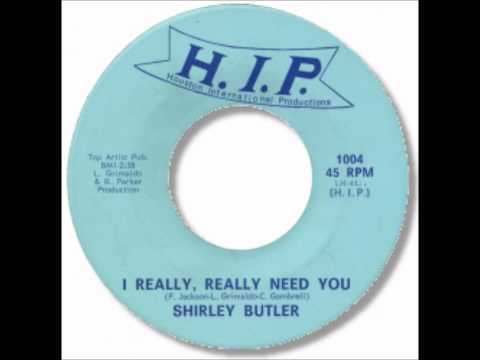 Shirley Butler - I Really Really Need You.