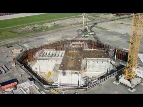 VSL Heavy Lifting: Wind turbine foundation testing, Cuxhaven - Germany