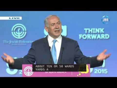 JFNA GA 2015: Benjamin Netanyahu