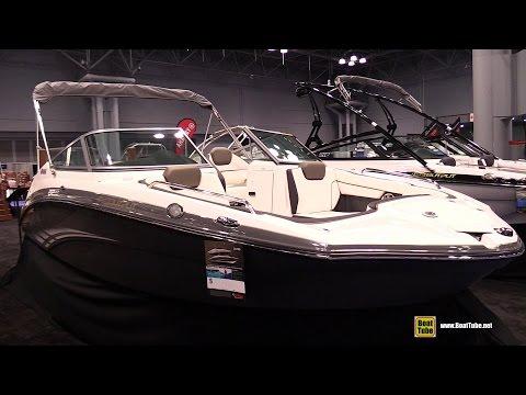 2015 Yamaha 212 SS HO Motor Boat - Walkaround - 2015 New York Boat Show