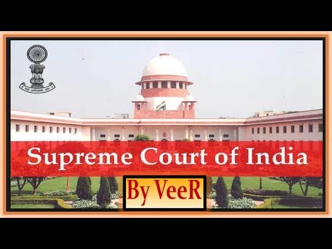 L-110- सर्वोच्च न्यायालय- Supreme Court  of India UPSC/PSC/RBI/SSC/IBPS- Current Affairs-By VeeR