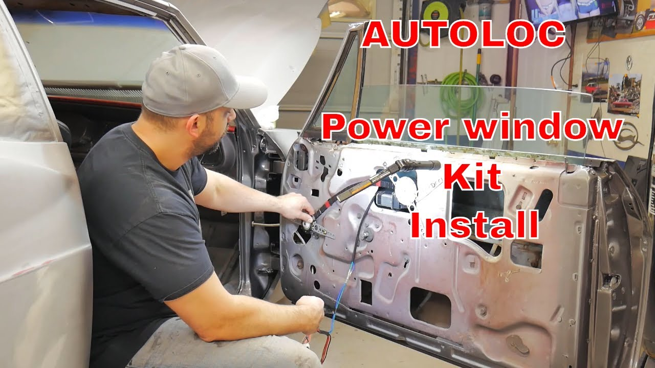 how to install an autoloc universal power window kit and an impala