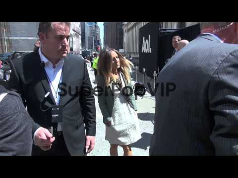 Sarah Jessica Parker at AOL event in Manhattan in New Yor...
