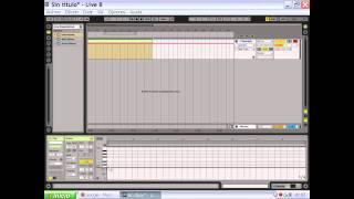 Tutoriales en español sobre white noise effect en Ableton live 8.