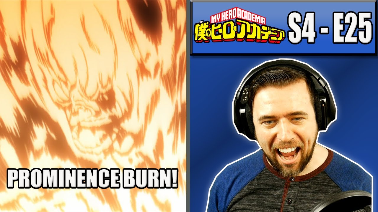 ENDEAVOR VS NEW NOMU - My Hero Academia Season 4 Episode 25 - Rich Reaction