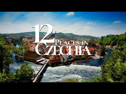 10 Beautiful Places to Visit in the Czech Republic 4k 🇨🇿  | Must See Travel Video