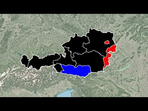 Austrian Legislative Election Results (1945-2017)