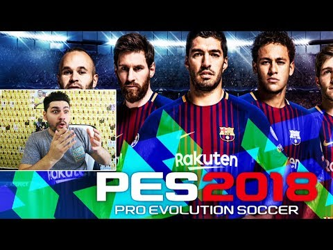 PLAYING PES 2018 - BEST FOOTBALL GAMEPLAY EVER ? PRO EVOLUTION SOCCER 2018 REVIEW