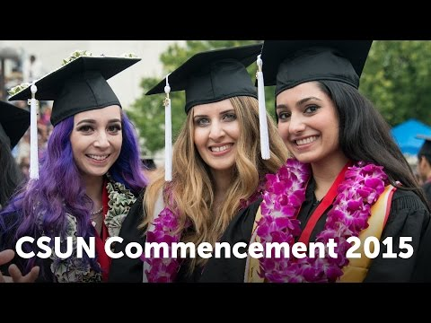 CSUN Commencement 2015: Social and Behavioral Sciences Part 1, Deaf Studies