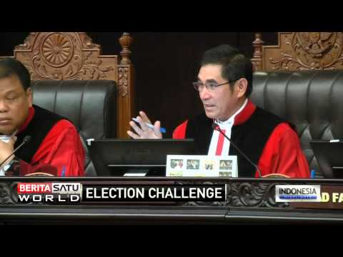 Prabowo Slams Election Results at Constitutional Court Hearing