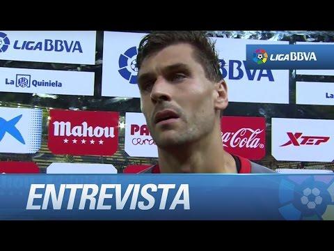 Entrevista a Fernando Llorente tras el Villarreal CF (2-1) Sevilla FC