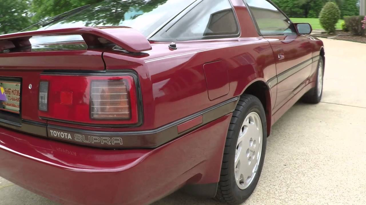 Kelebihan Toyota Supra 1988 Spesifikasi