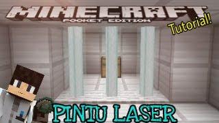 Tutorial - Pintu Laser - Minecraft PE (Pocket Edition)[Bahasa Indonesia]