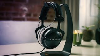 the BeyerDynamic DT770 Pro Headphone Review // 250 Ohm Version