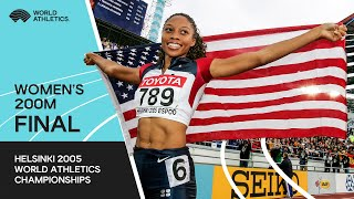 Uncut - 200m Women Final Helsinki 2005