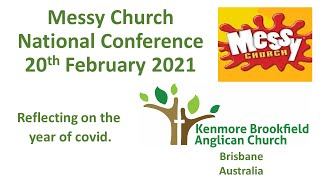 Messy Church Conference, video from Kenmore Brookfield Anglican Parish