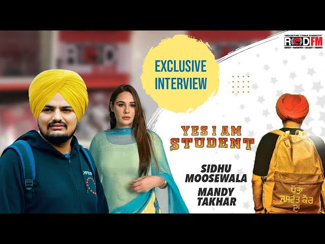 What inspired the movie 'Yes I am a Student'?   Exclusive interview   Sidhu Moosewala & Mandy Takhar