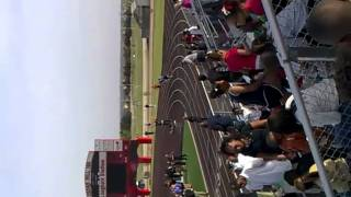 Kolbi McGary @ CHHS (Permenter Track Meet) 400 Meter Relay ..In the red
