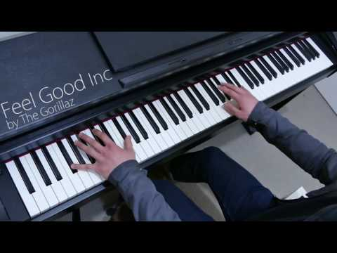 [Piano Cover] 'Feel Good Inc' by The Gorillaz