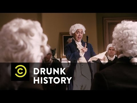 Drunk History - John Adams vs. Thomas Jefferson