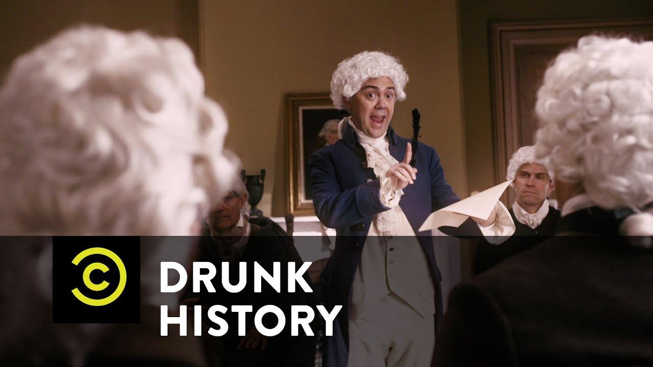 Drunk History John Adams Vs Thomas Jefferson Youtube