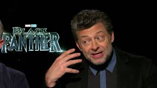 Black Panther Interview: Martin Freeman and Andy Serkis