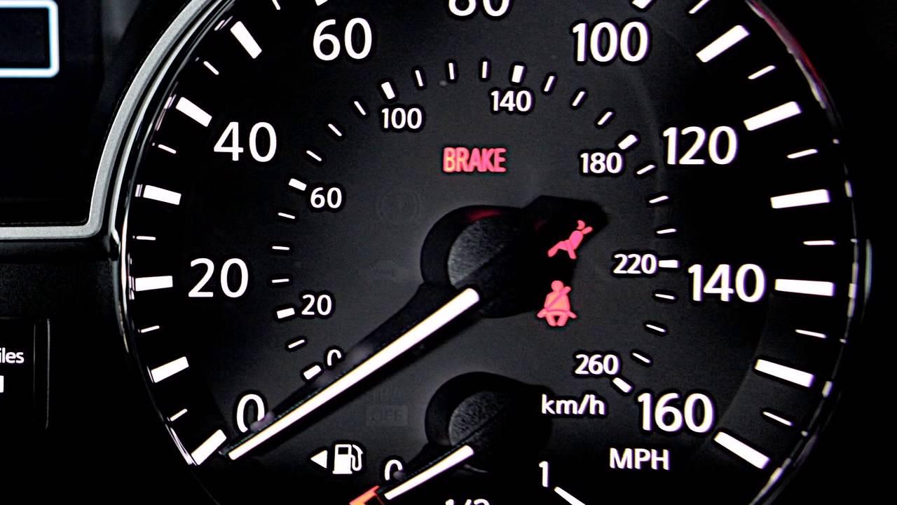 2014 Nissan Altima - Warning and Indicator Lights