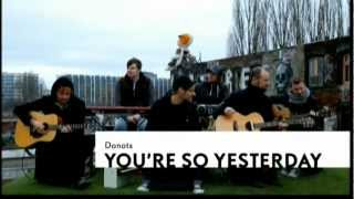 DONOTS - You're so yesterday [Unplugged]  [HD]