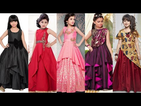 Gown Dress Designs For Girls