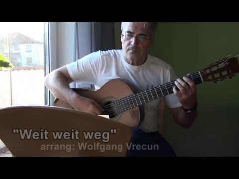 Weit weit weg - guitar cover (Hubert von Goisern)