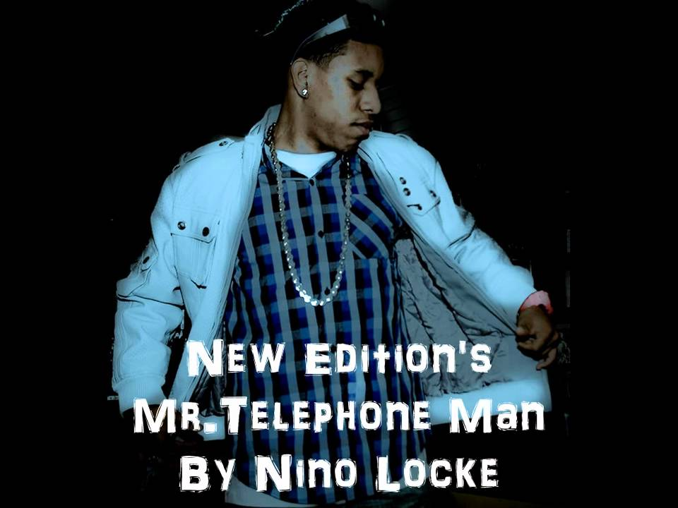 New Edition Mr Telephone Man By Nino Locke Youtube