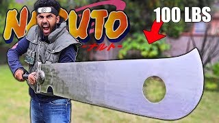 "NARUTO WEAPONS In Real Life ""ZABUZA'S LEGENDARY BLADE"" (It Took Me 2 Years To Find This Thing)"