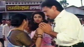 Jackie Shroff, Divya Bharti, Sulbha Deshpande, Dil Hi To Hai - Scene 8/19