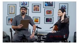Hania Amir Funny Interview With Wajahat Rauf - Smile of Dimple Queen 😍