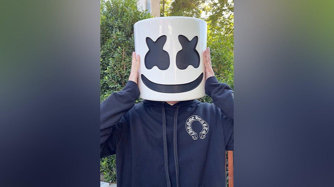 Marshmello Takes Off Mask 😱 #Shorts