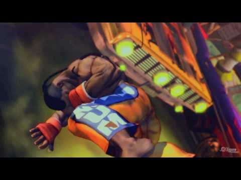 Super Street Fighter IV New Fighters Trailer