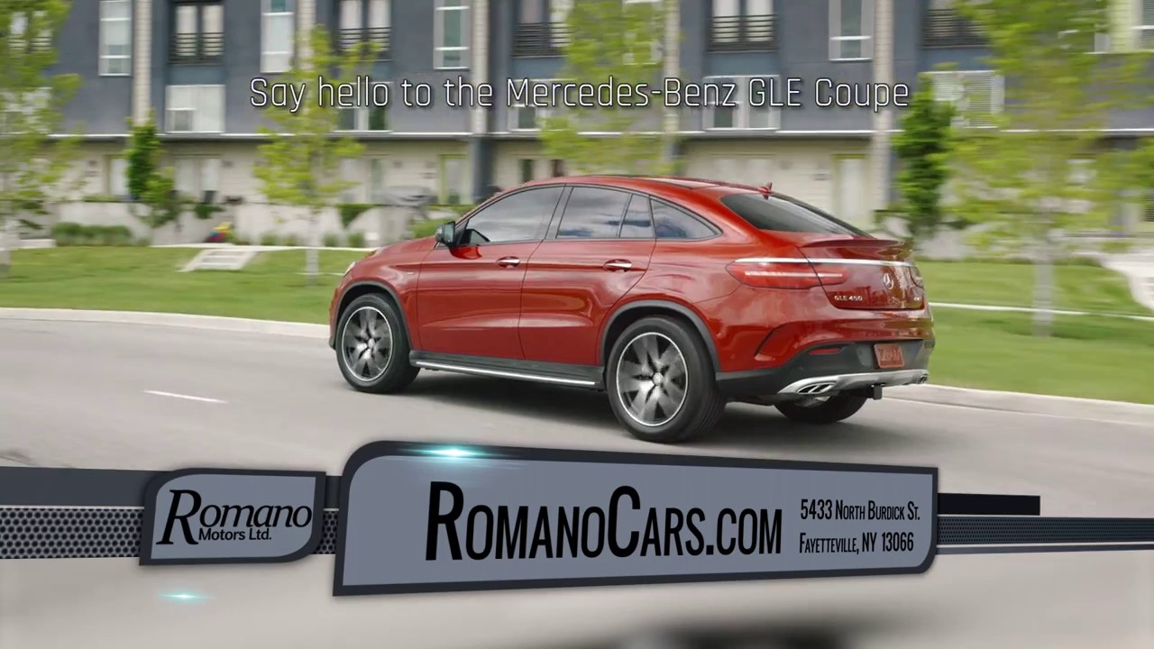 2017 mercedes benz gle coupe syracuse ny mercedes gle for Mercedes benz dealer syracuse ny