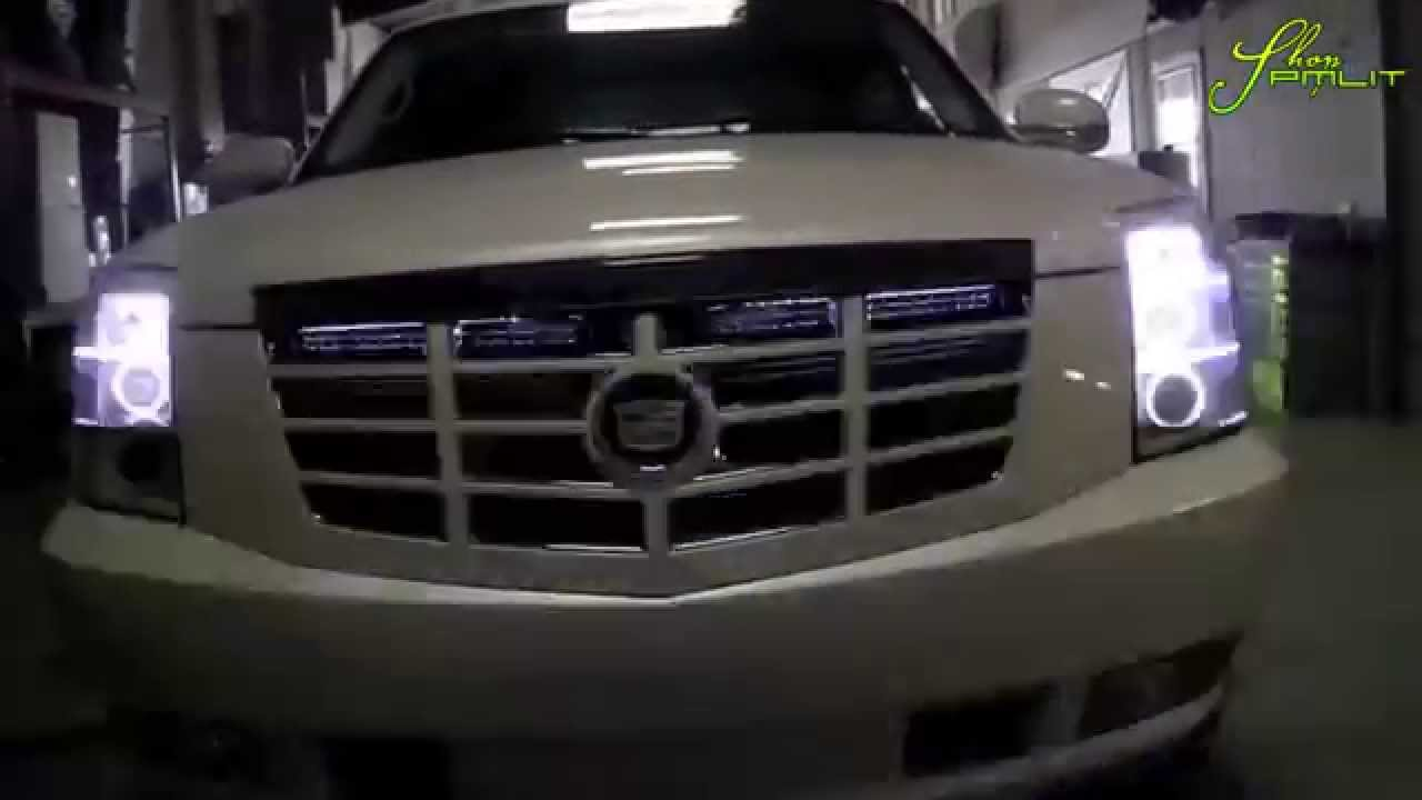 ORACLE Cadillac Escalade EXT ColorSHIFT V2.0 LED Lights by ShopPMLIT on escalade led headlights, escalade on 28s, escalade grill, escalade led lights for an inner,