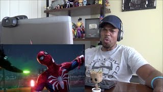 Marvel's Spider-Man – E3 2018 Gameplay | PS4 - REACTION!!!