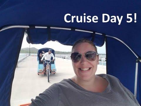 Cruise Day 5 Family Vacation Vlog [ep9] Fathom Adonia
