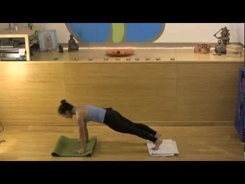 Briohny Smyth Yoga Demonstration - Handstand