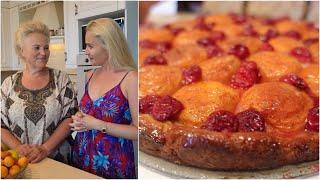 Фруктовый ПИРОГ готовит моя МАМА - Дома у родителей - За кадром - Универсальное тесто для пирогов